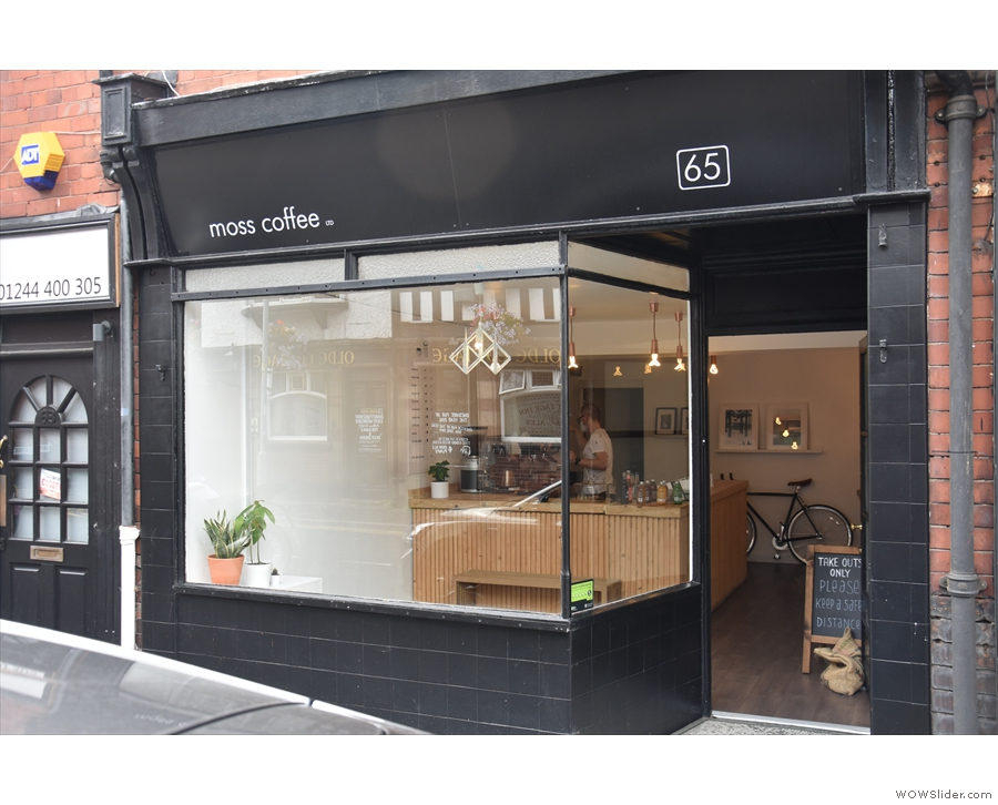 Chester has a vibrant and varied coffee scene, with the likes of Moss Coffee...
