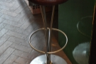 You can also perch at the counter on a bar-stool