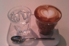 On my first visit, I opted for this very find cortado, beautifully presented on its own tray.
