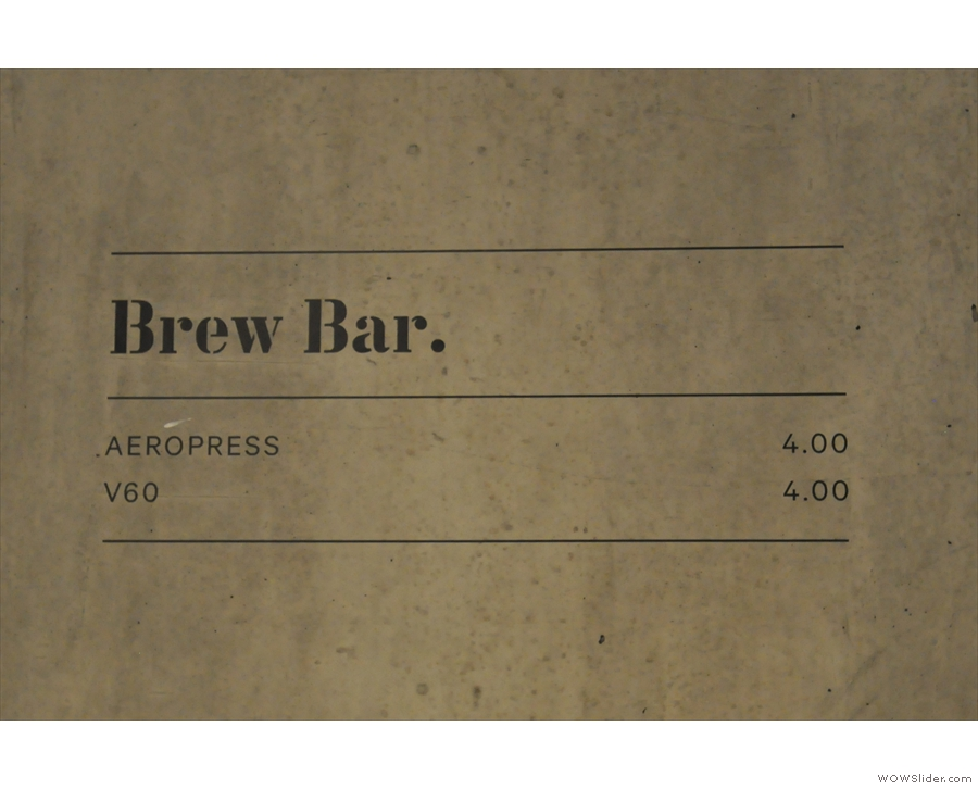 Nice, simple pricing structure.