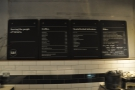 ... with a comprehensive menu on the wall behind.