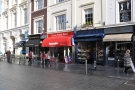 Looking the other way, just four shops seperate Devon Coffee from the Boston Tea Party...