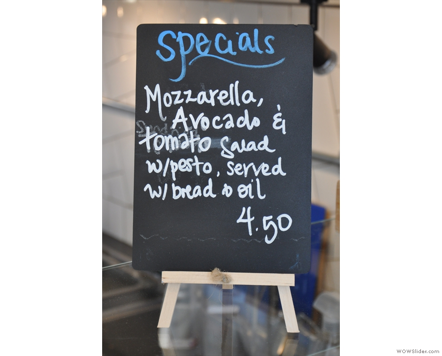 ... and a daily special.