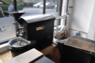 On the roastery side, check out this little fellow in the window, although he's leaving soon...