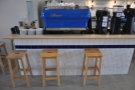 ... or this bar along the side/end of the counter by the espresso machine.
