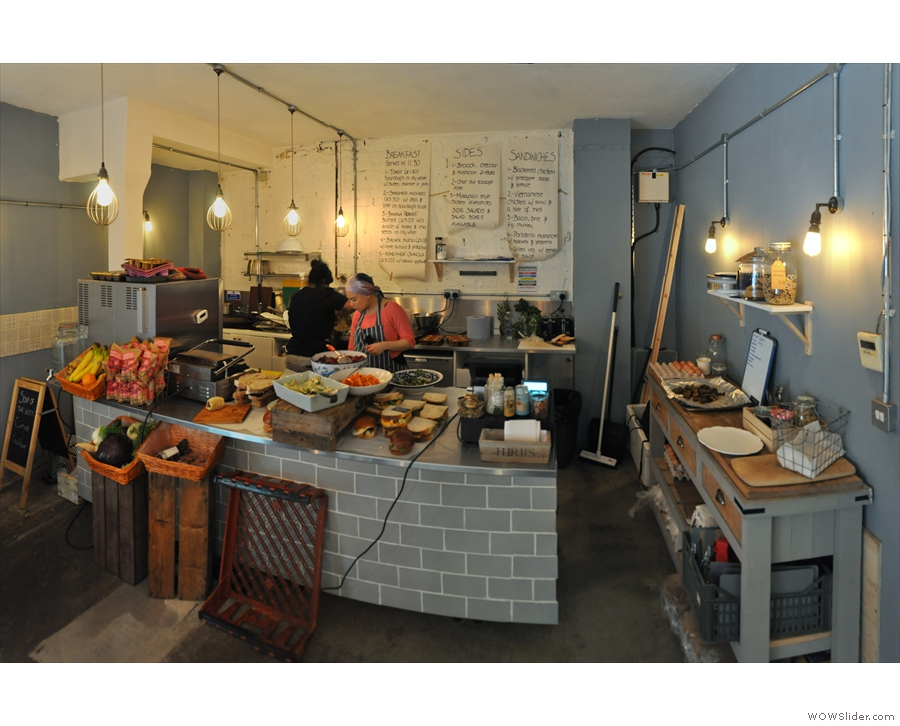 The counter has also undergone a significant change. This is how it looked in 2016...