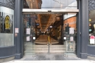 The southern end of the Piccadilly Arcade in Birmingham, gateway to great coffee.