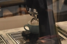 Naturally I had to watch an espresso being made.