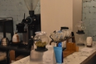 Ironically, I'd actually come for pour-over, now relagated to the side of the counter.