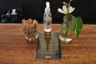 What really impressed me was the table layout, each table with its own sanitister and...