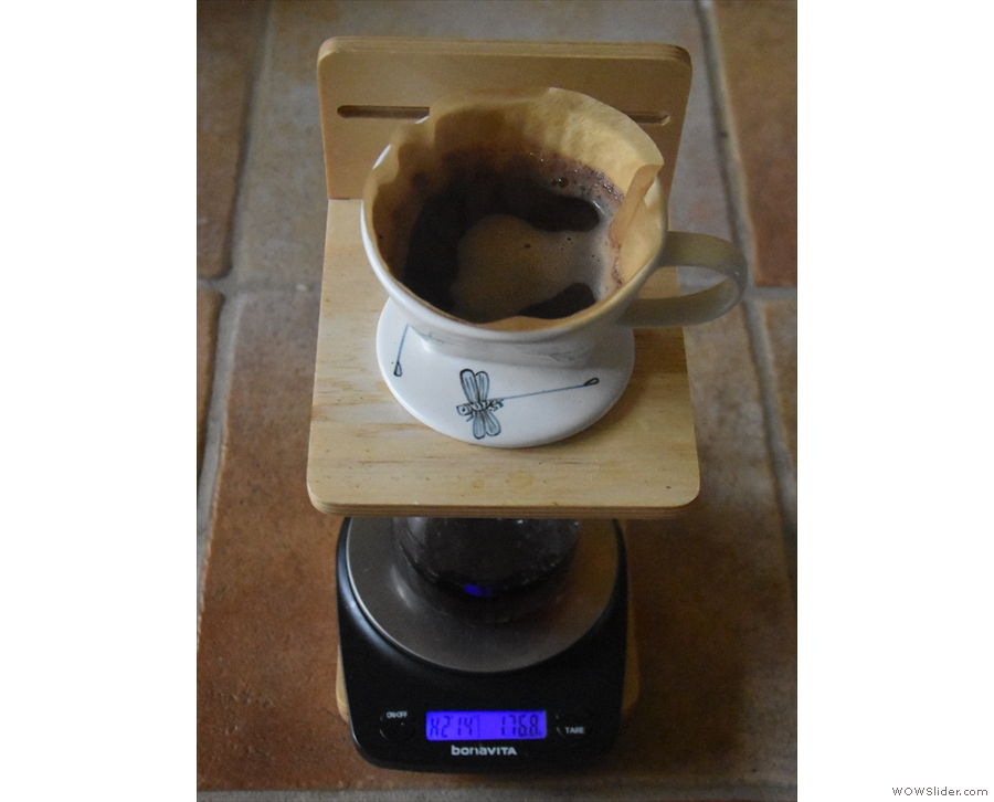 ... or my pour-over filter, which is what I used for the side-by-side comparisons.