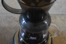 ... or my Clever Dripper. For the filter roast, I either used the Clever Dripper...