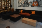 ... where you'll also find this L-shaped array of sofas.