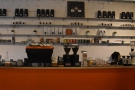 The rest of the counter is the domain of the coffee operation...