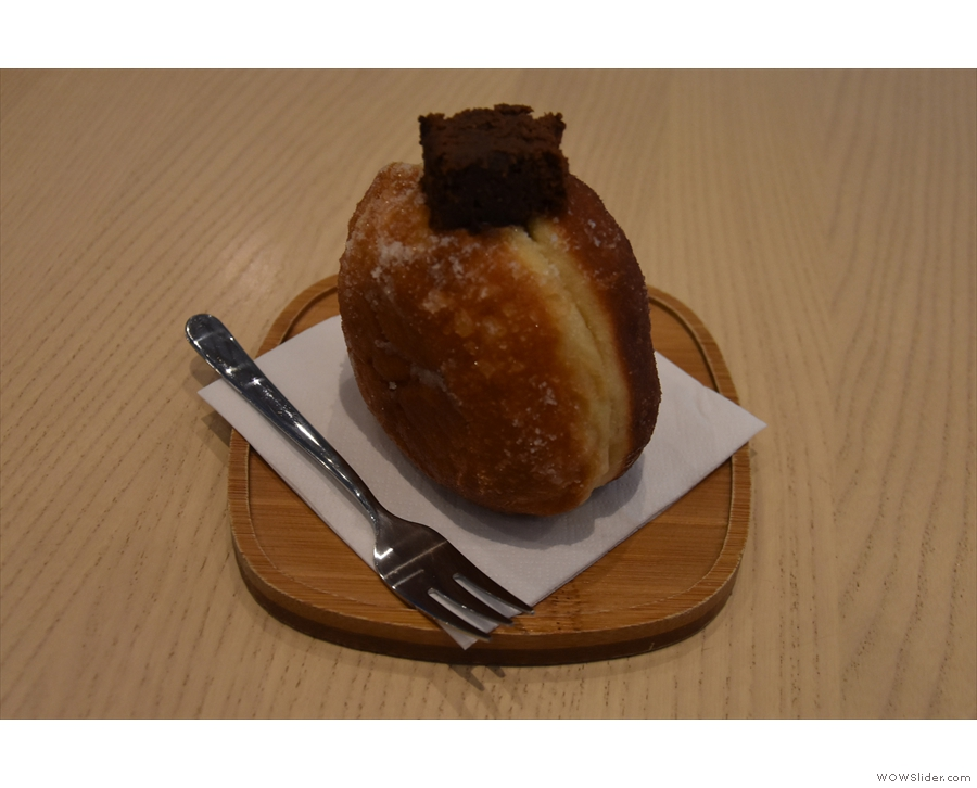 I'll leave you with one of the aforementioned doughnuts, which I just couldn't resist!