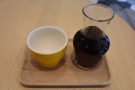 Talking of which, on the recommendation of Liam, the barista, I had the Mount Halu...