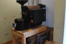 Finally, there's the roaster, still in pride of place at the front on the right, although now...