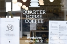 It's a similar story at Quarter Horse Coffee in Birmingham...