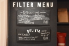 The filter options during my most recent visit. There was...
