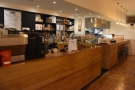Now Bold Street Coffee carries on with an open kitchen on the left...