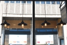 ... and, despite all the natural light, plenty of light bulbs, siuch as these in the windows...