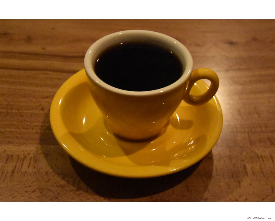 ... a cup of the Uraga Ethioian batch brew, which is where I'll leave you.