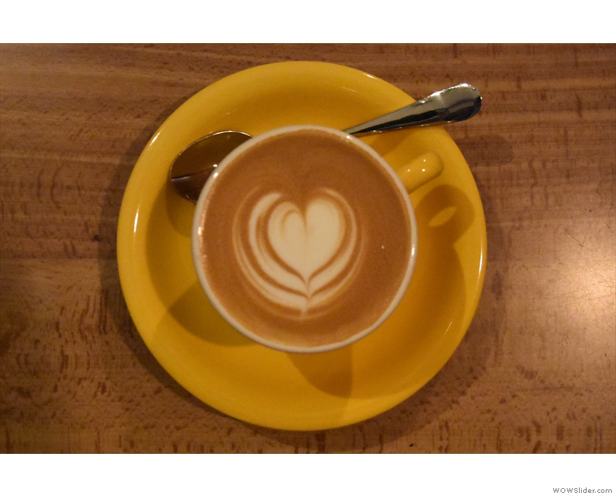 The lovely latte art is worth a second look. I followed this up with...