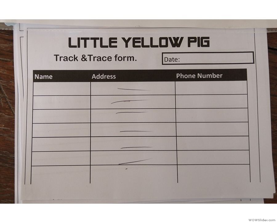 A more old-school method is to provide a contact sheet (seen here at Little Yellow Pig)...