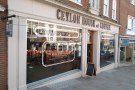 A new sight when walking down Guildford High Street: it's the Ceylon House of Coffee.