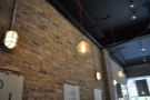 I instantly fell in love with the exposed brickwork and high ceilings.
