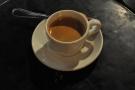 ... and on my return, a decaf espresso...