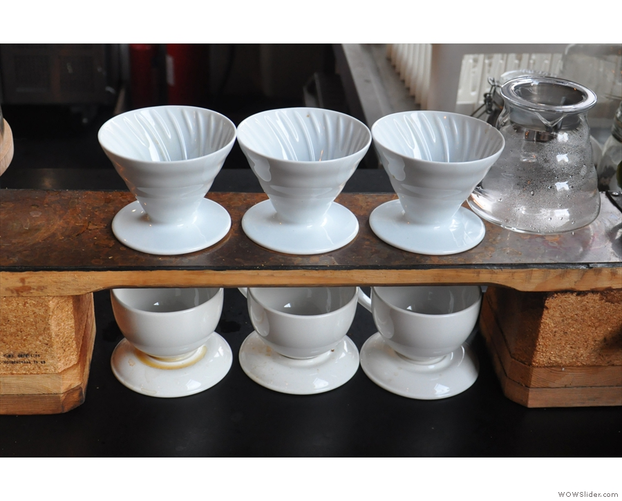 There's also been a change when it comes to pour-over. In 2015, 92 Degrees used V60s...