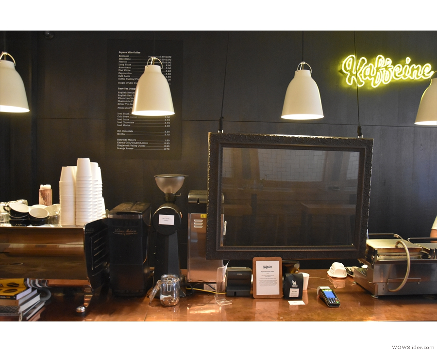... where, rather than marring the counter's beauty with Perspex, there's a window!