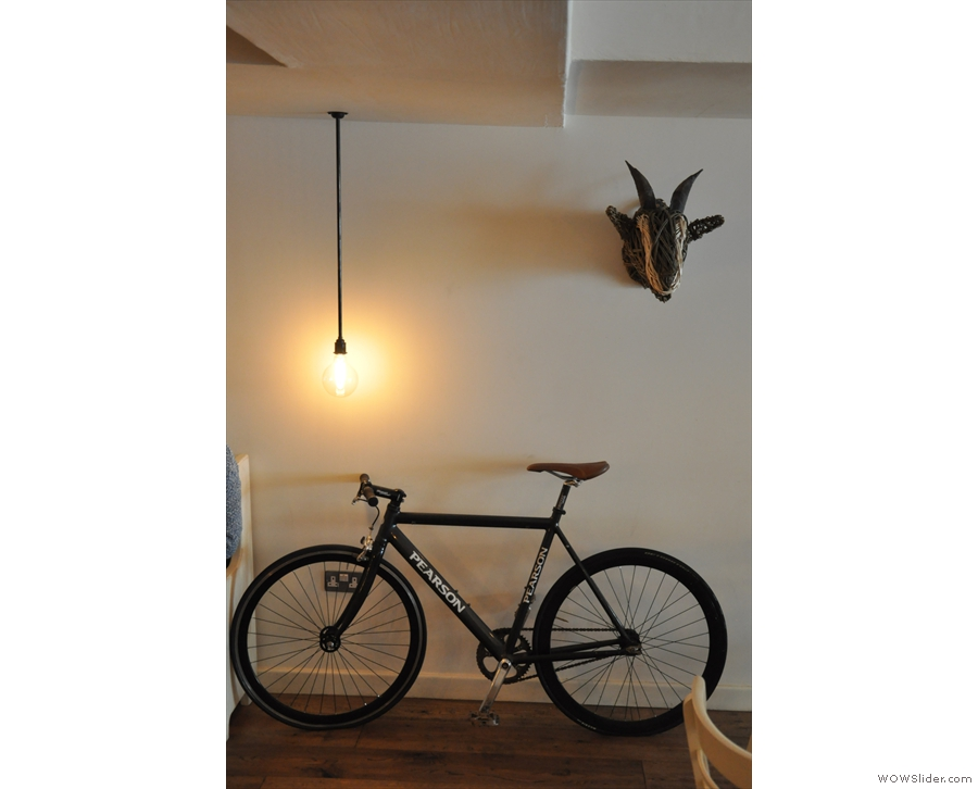 The company bike?