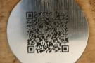 ... time I'd scanned the QR Code for the NHS app. Each table also has a QR Code...