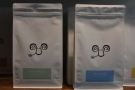 ... while these are the guest espresso (left) and the filter option (right).