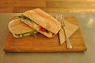 I also had a goat's cheese sandwich for lunch, lunch being a common theme of my visits.