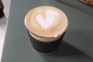 My first visit was in July for a flat white, when The Collective was takeaway only.