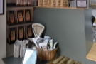 ... plus various goodies (including cakes and pastries) in the corner.