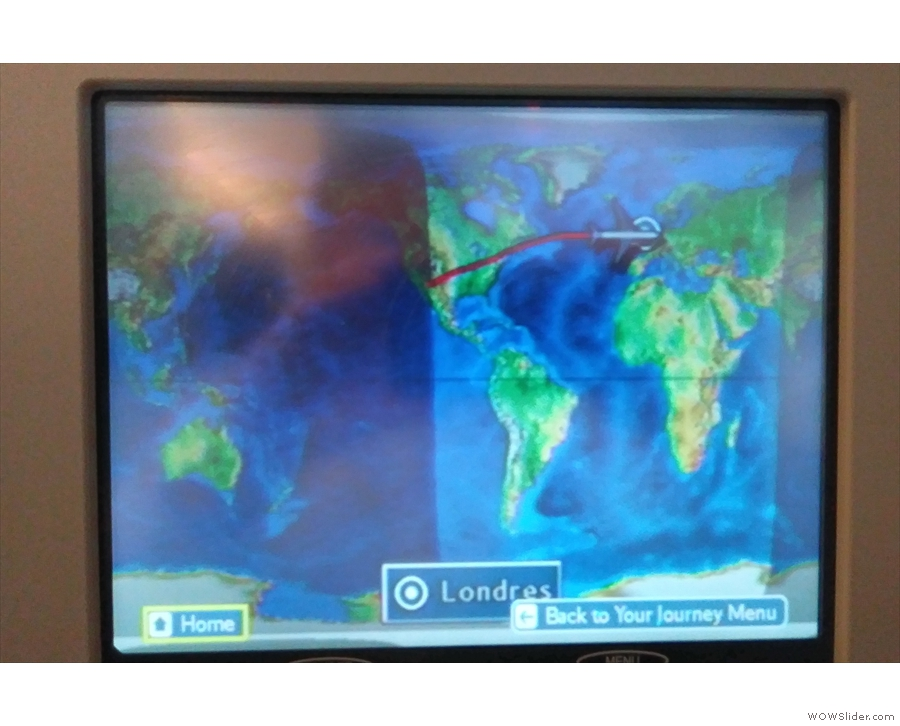 By this point we were almost all the way across the Atlantic, having taken a southerly...
