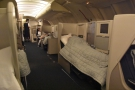 Many of my fellow passengers had already gone to bed by this point, so I joined them...