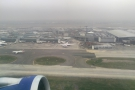 ... and, as we leave the ground, the old Terminals 1, 2 and 3 block...