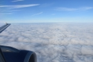 And we're above the clouds, where it's nice and sunny!