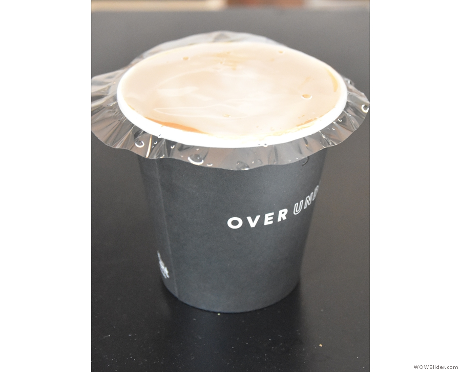I'll leave you with Over Under's solution to stop delivered coffee from spilling: a plastic...
