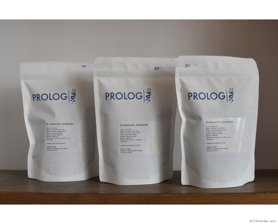 ... while these are from the current guest roaster, Prolog.