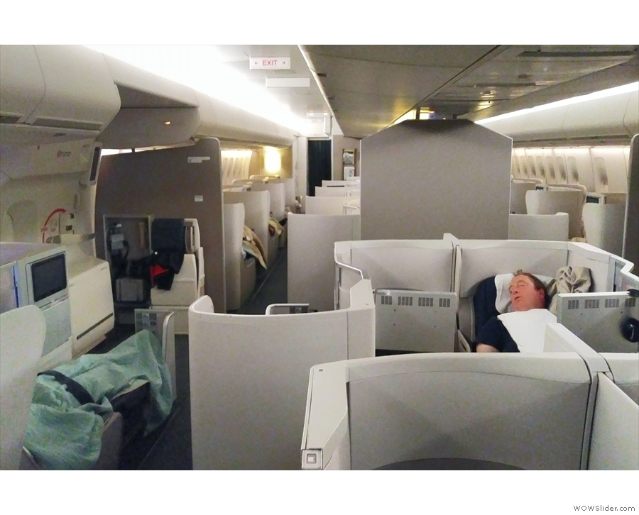 ... from Chicago and it was my first time flying in business class with British Airways.
