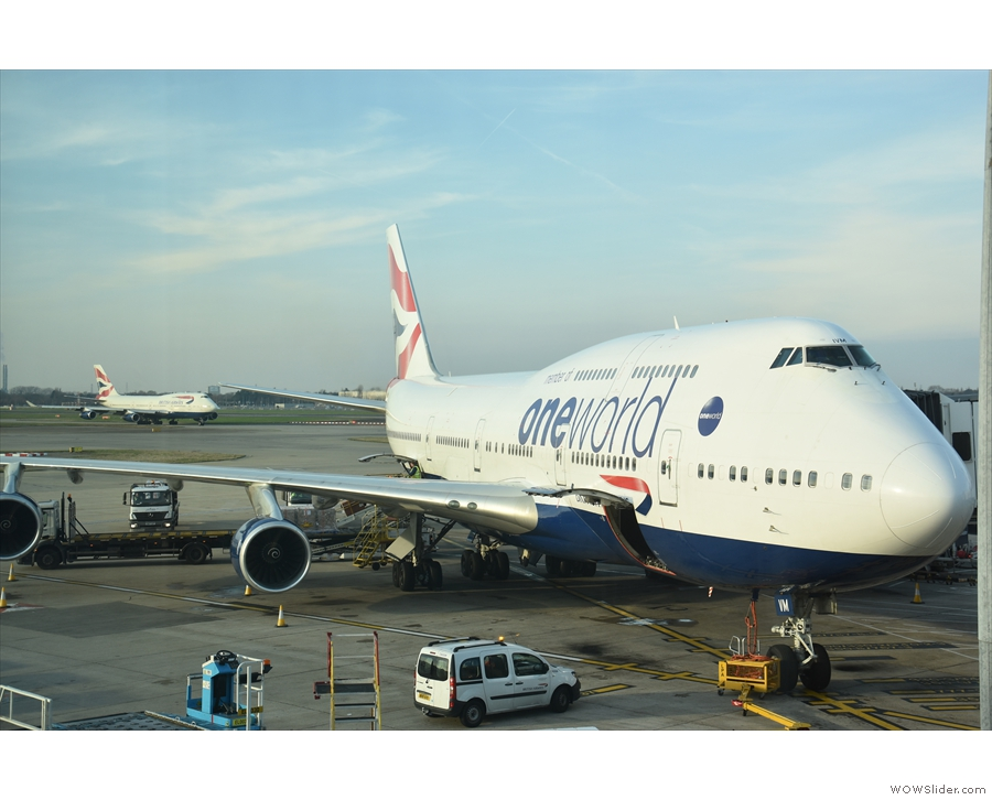... the last time I was a passenger on the Queen of the Skies, it's been quite a journey.