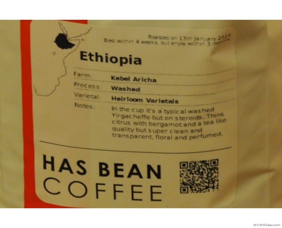 ... and for the Ethiopian.