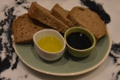 I went for the simple bread basket from the nibbles menu, while for coffee...