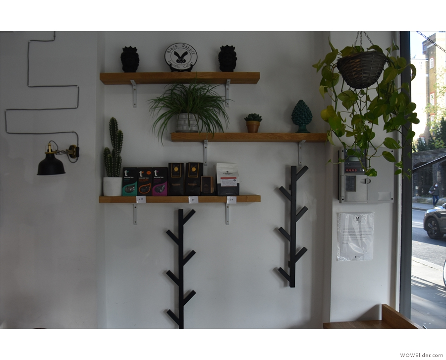... with more shelves by the windows.